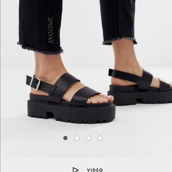 626e501db57 Chunky platform sandals